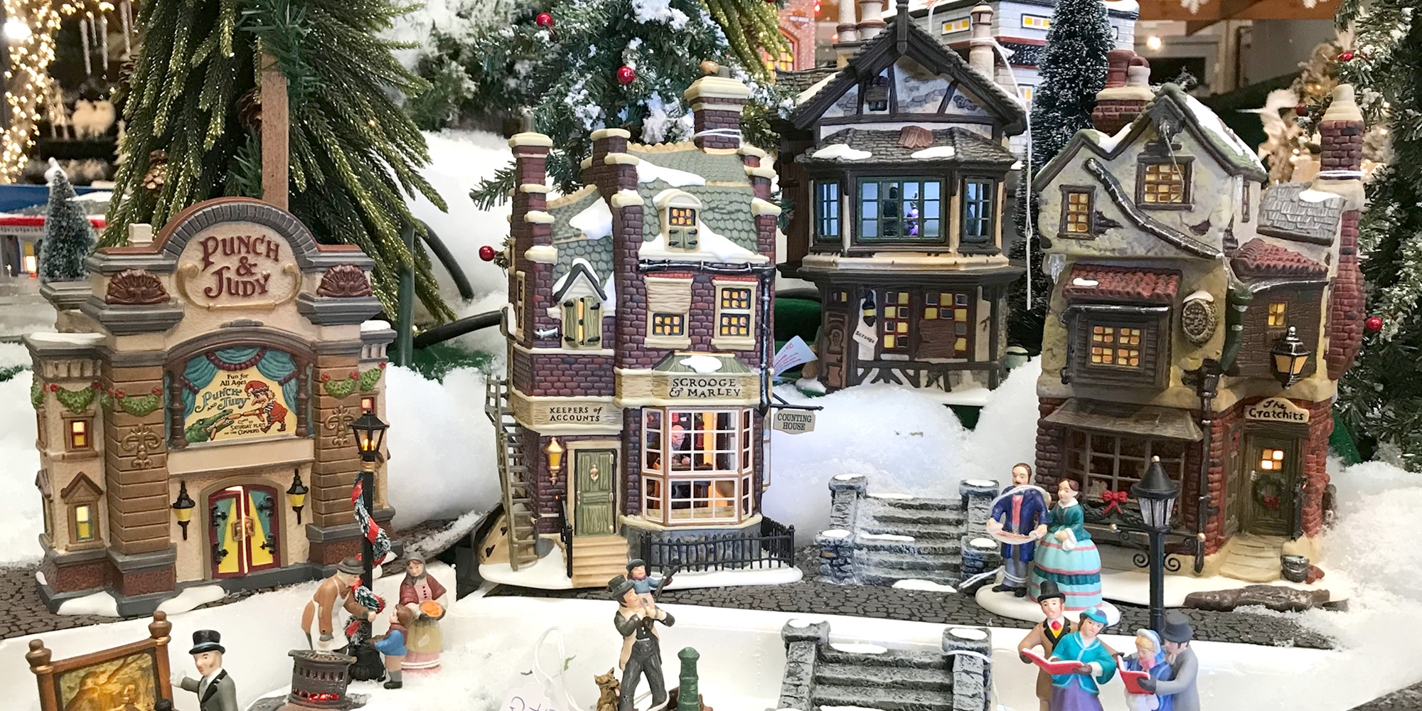 Christmas Village from Department 56