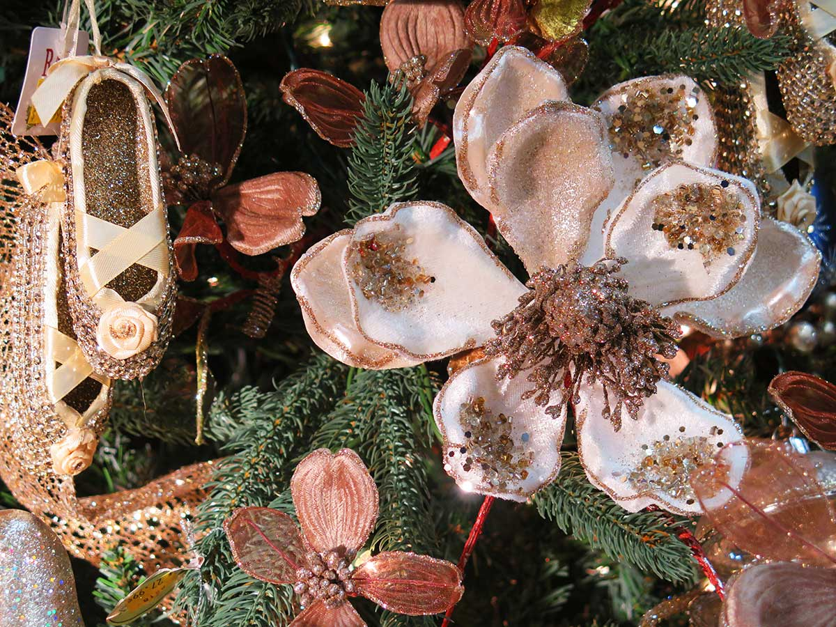 Flower and Ballet Ornaments