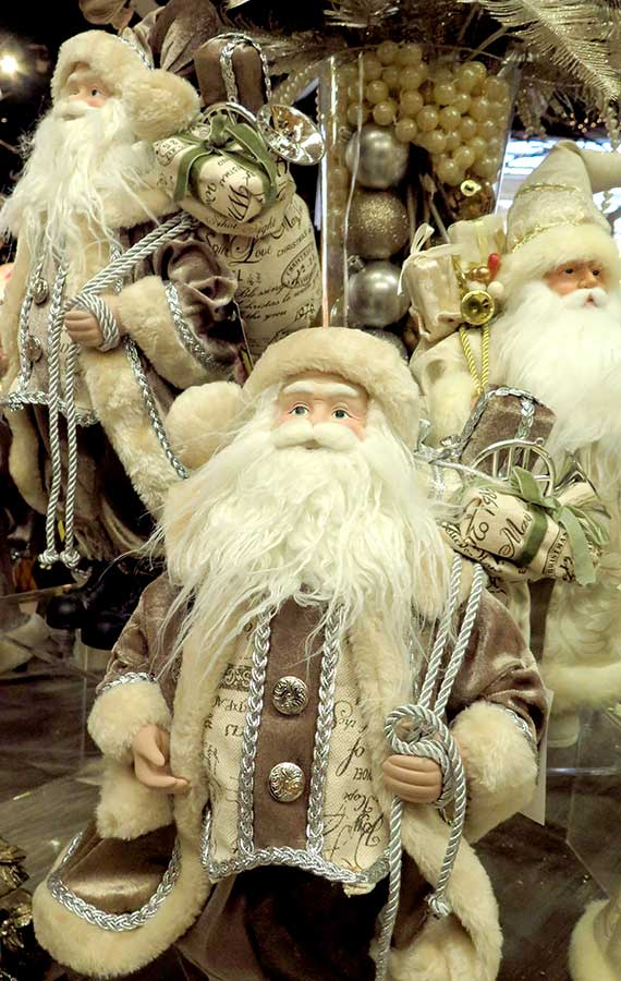 Old World Santa Figurines