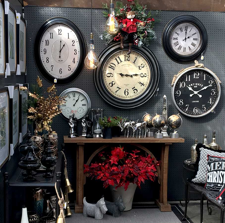 Clocks and Collectibles