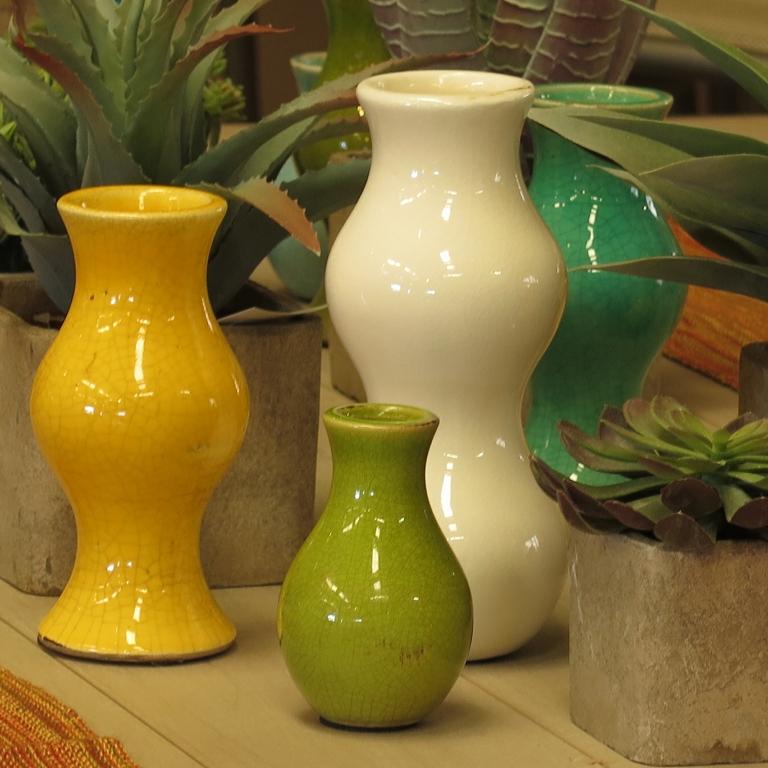 Retro-Styled Vases