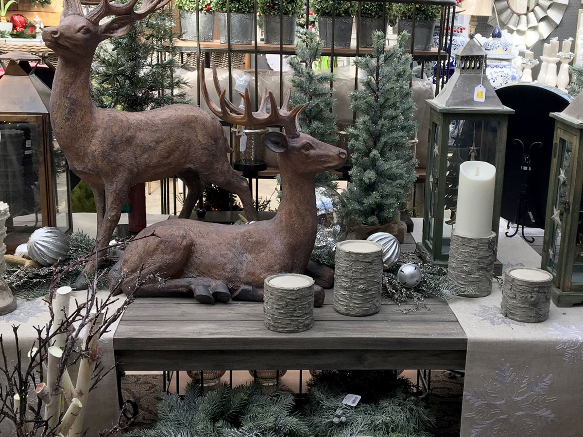 Reindeer and Elegant Decor