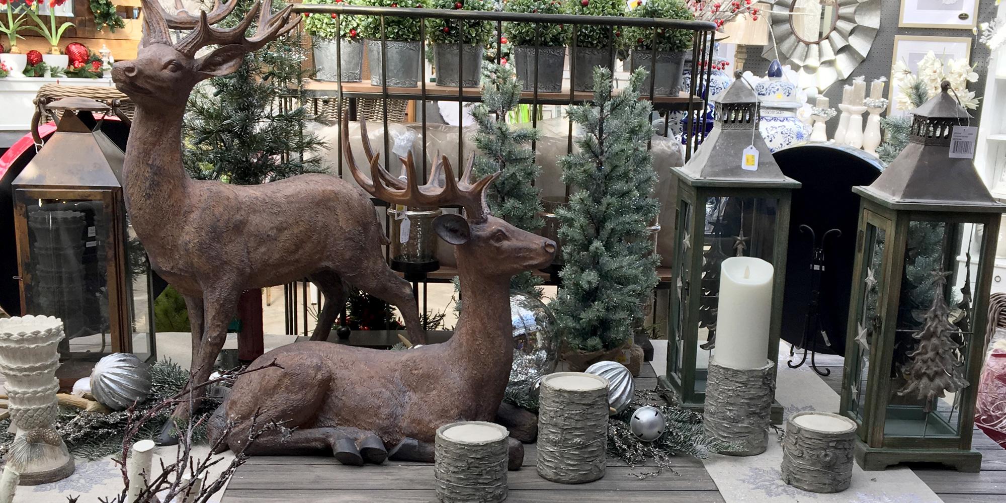 Christmas Reindeer Tabletop Décor