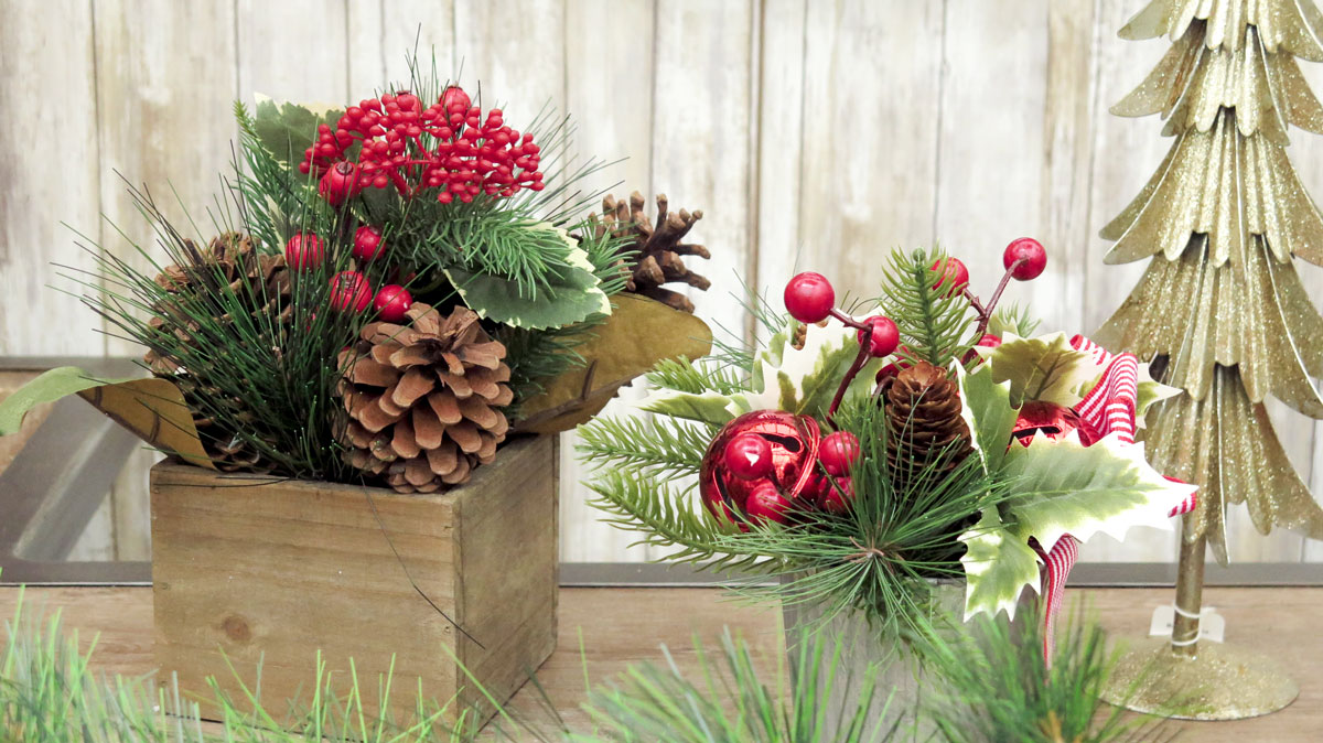 Festive Holiday Centerpieces