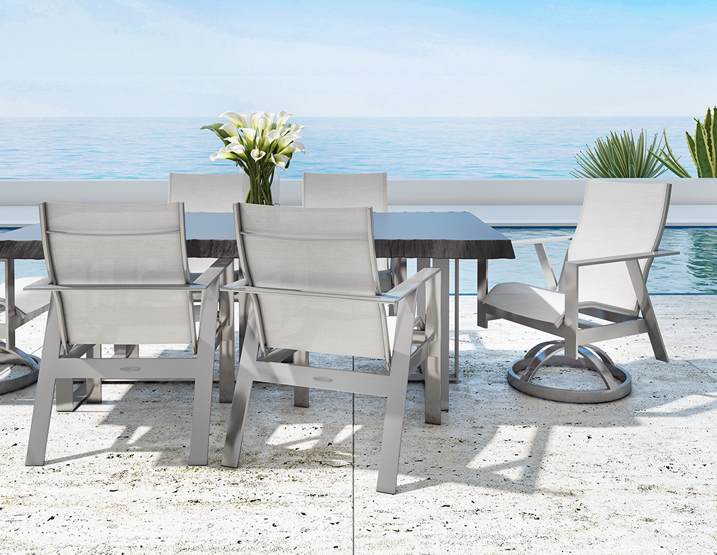 Trento Sling Dining by Castelle
