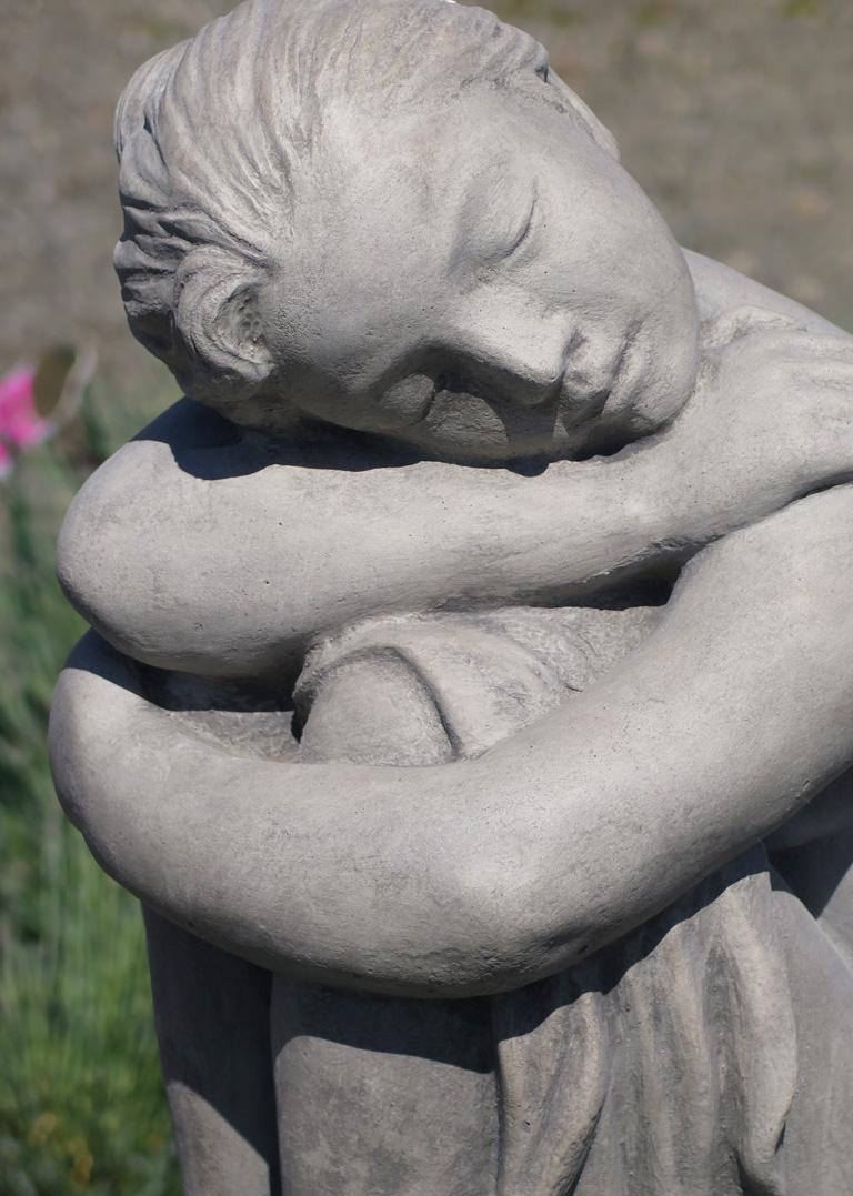 Sleeping Girl Statue
