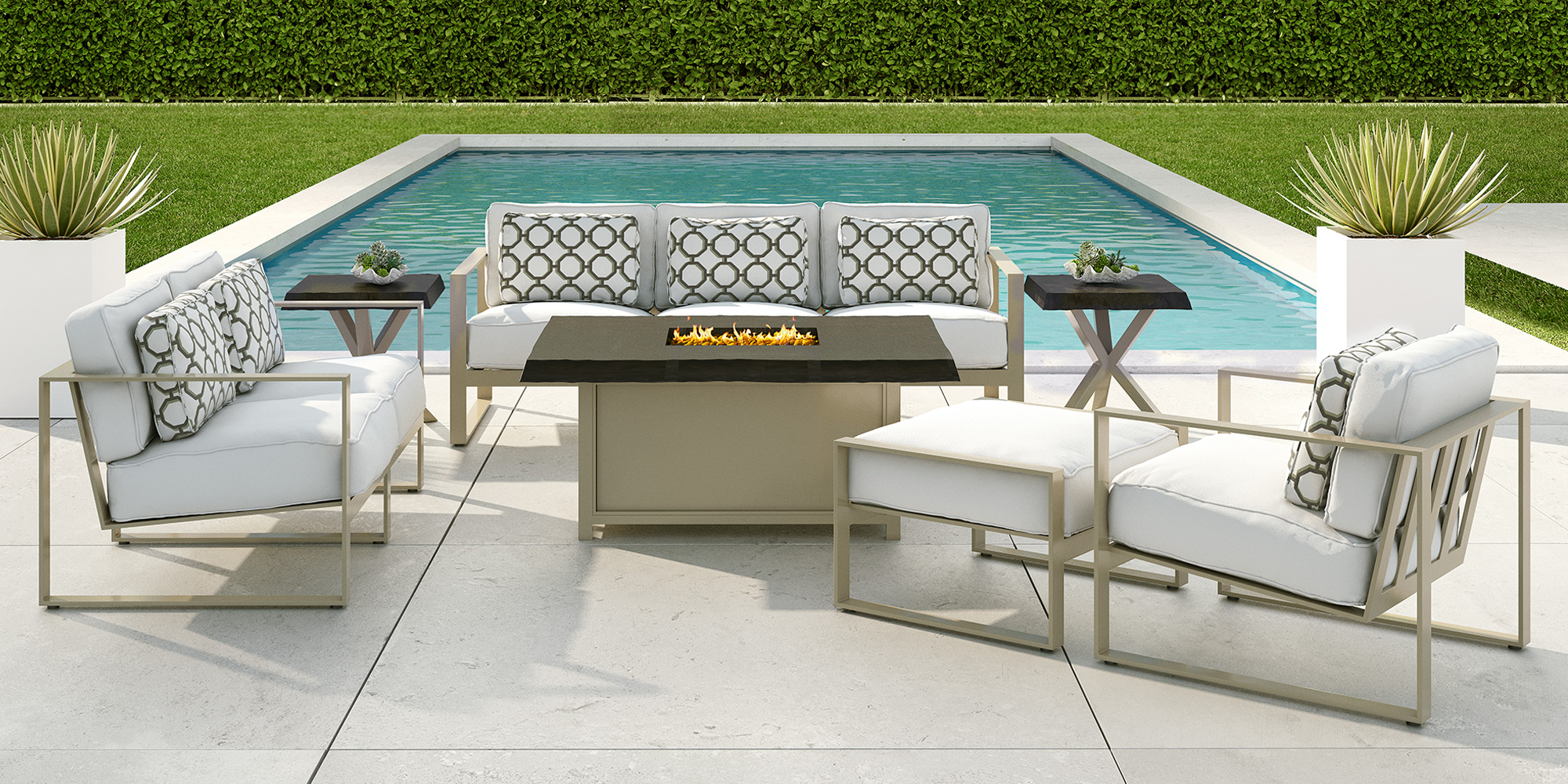 Park Place By Castelle Modern Outdoor Furniture