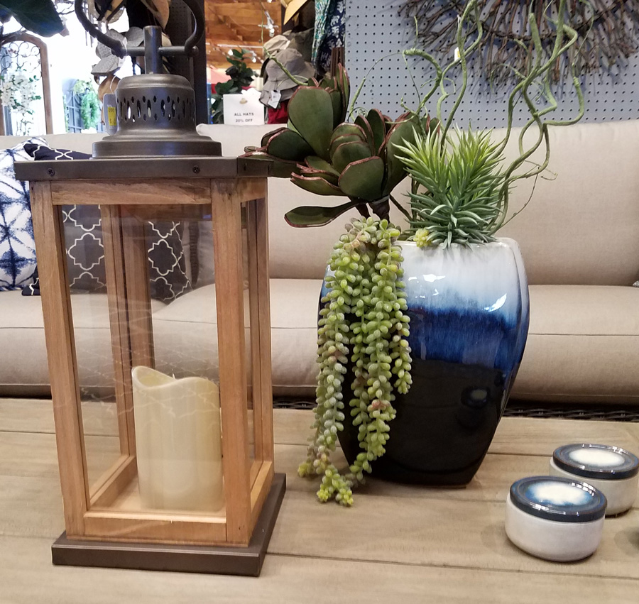 Decorative Lantern and Planter