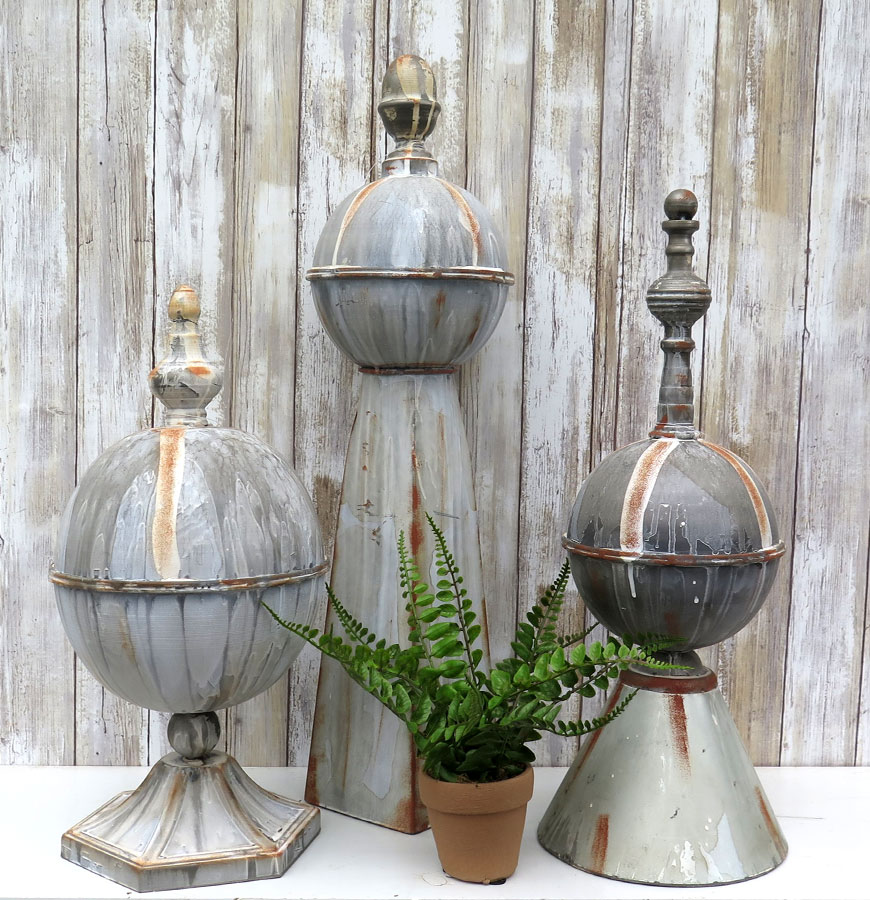 Decorative Rustic Wooden Spires
