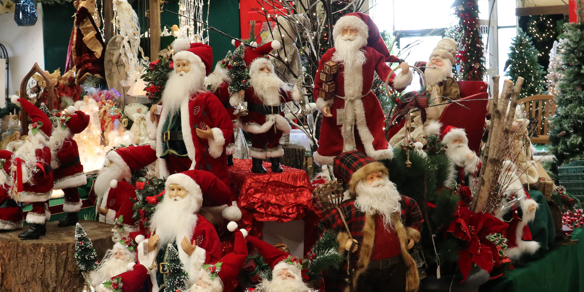 A Superior Selection of Santa Figures