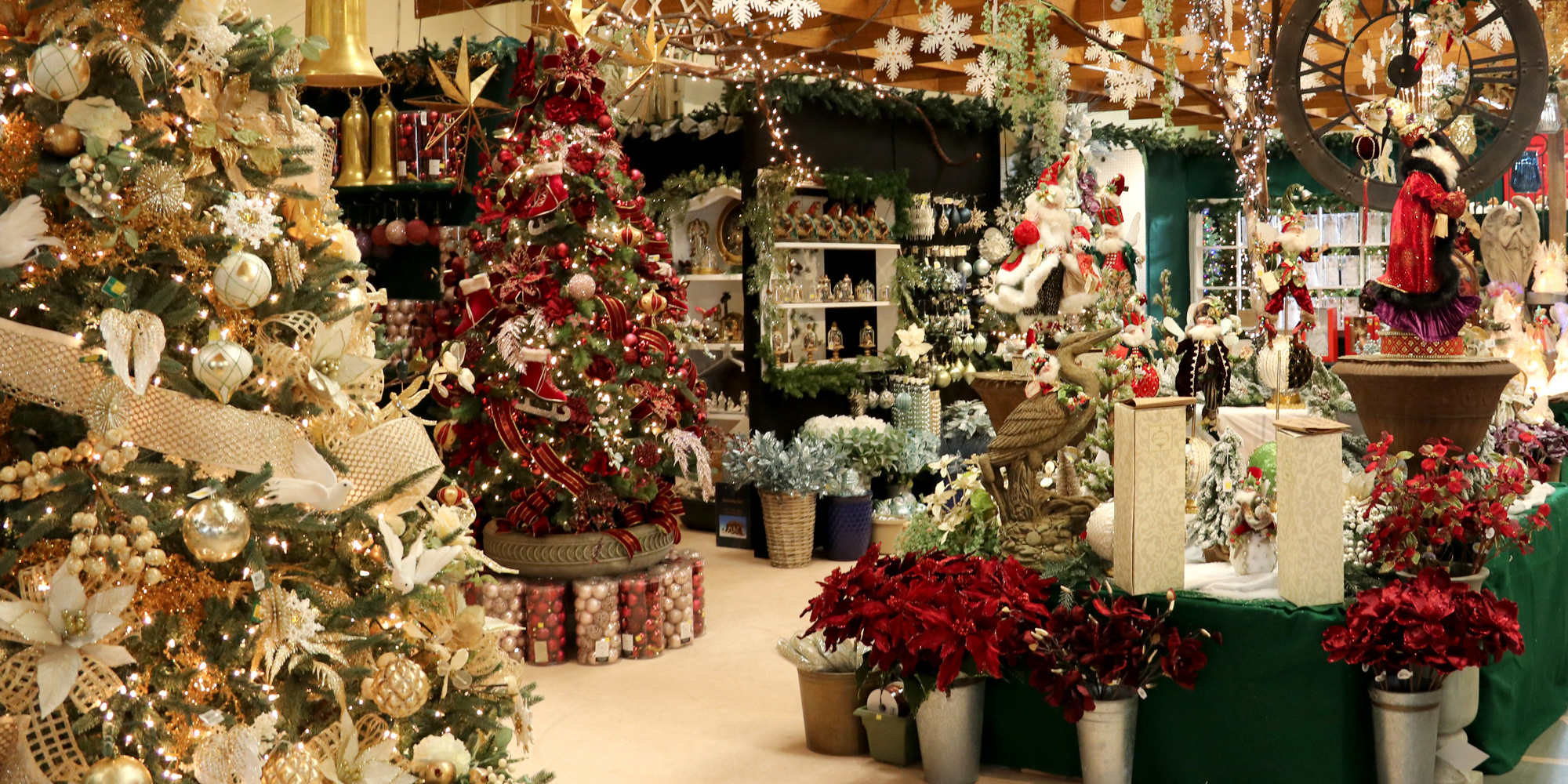 The Christmas Showroom at Down to Earth Living
