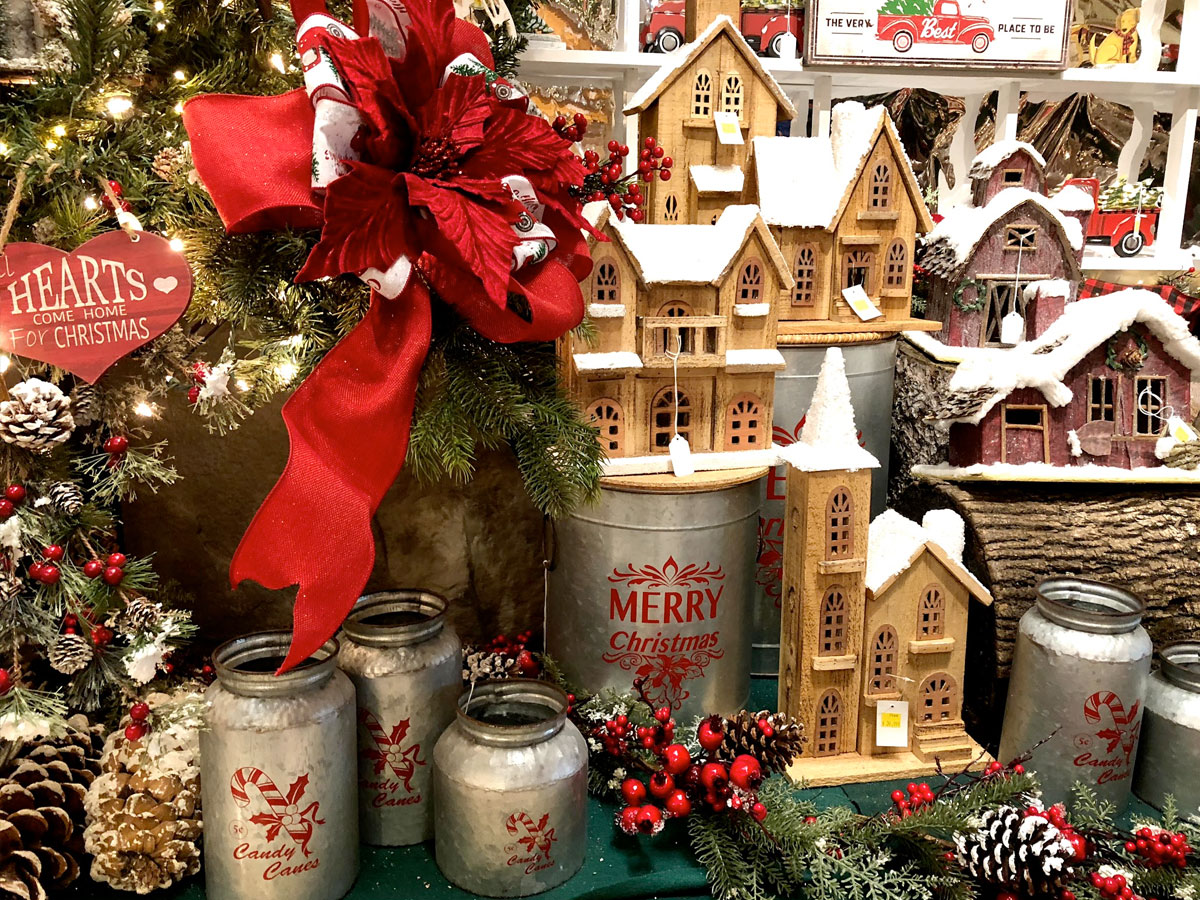 An Amazing Selection of Holiday Decor
