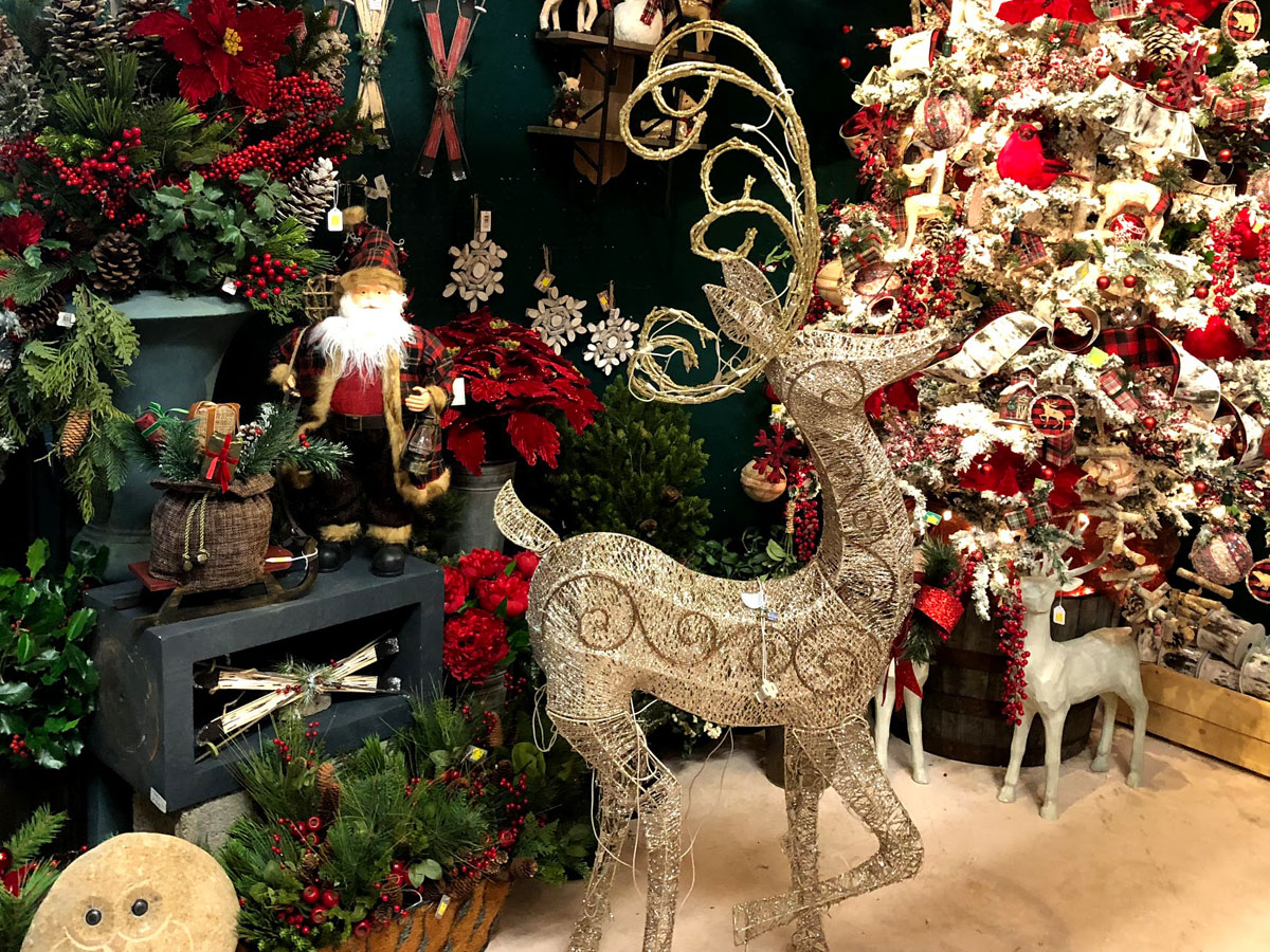 Gorgeous Reindeer, Santa Figurines, Christmas Decorations and More!