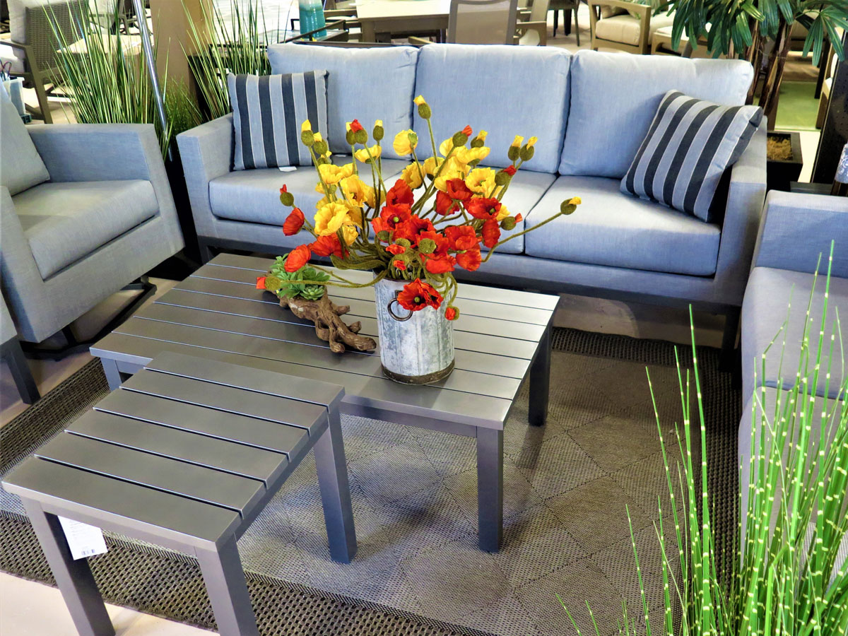 Deep Seating Set with Coffee Tables