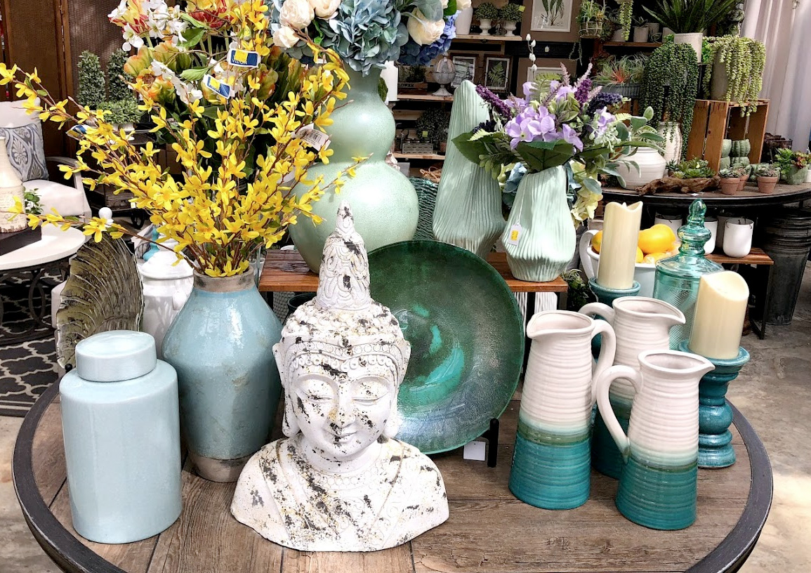 Ceramic Vases and Jars, Unique Home Decor, FLowers and More!