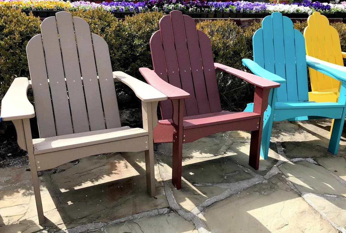 Colorful Adirondack Chairs