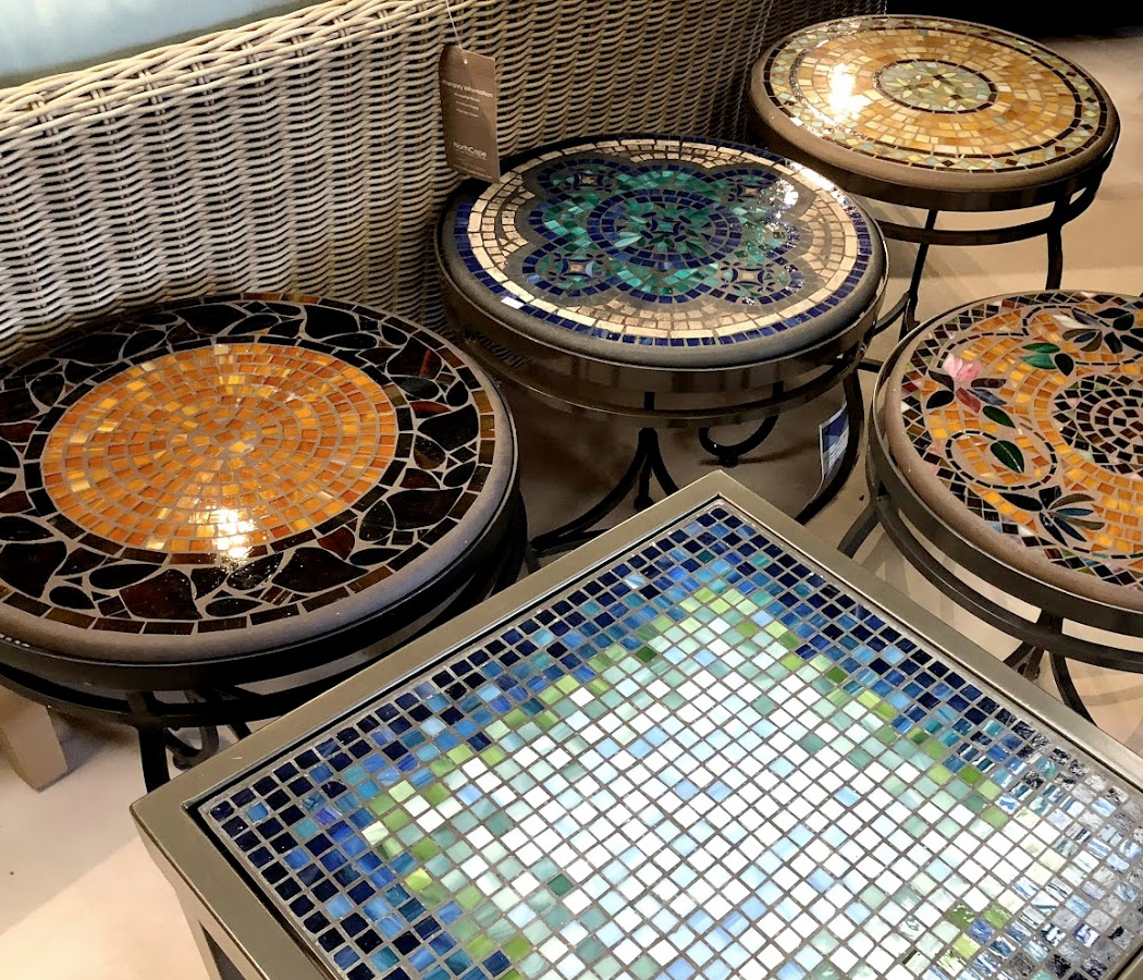 Huge Selection of Mosaic End Tables