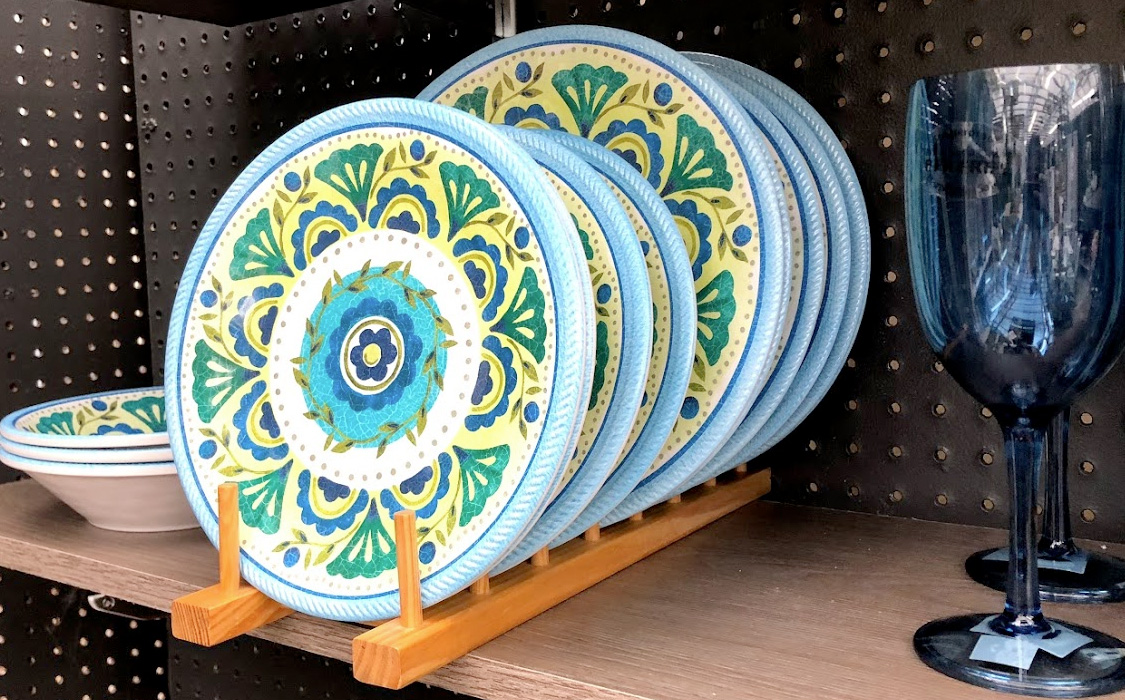 Blue, Green and Yellow Tabletop Set