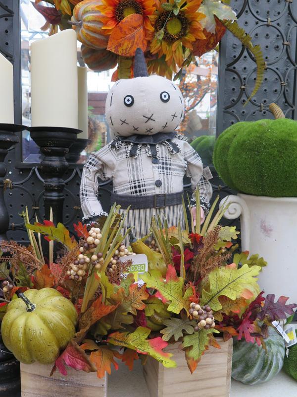 Pumpkin Figurine for Halloween