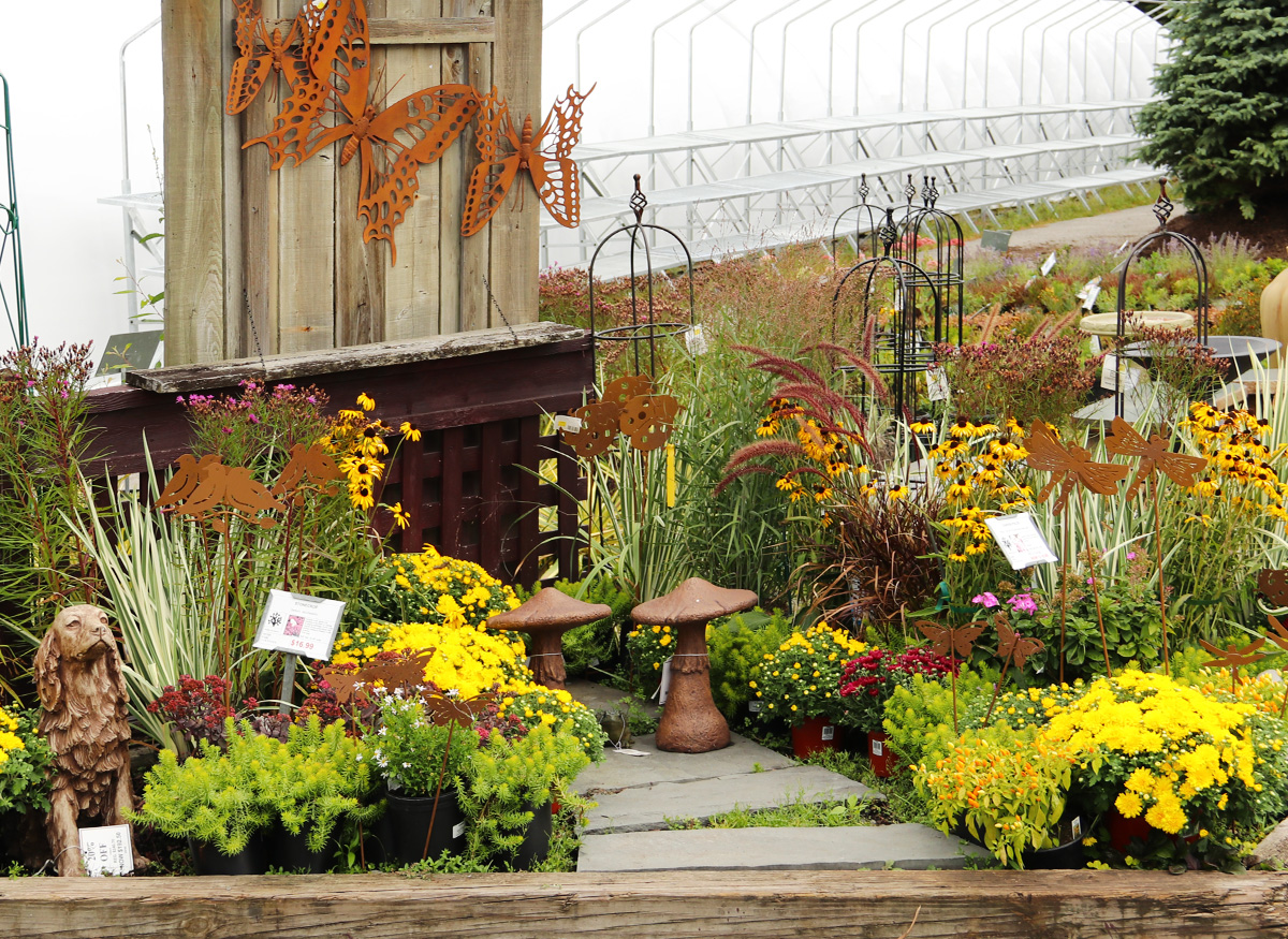 Fall Garden Display
