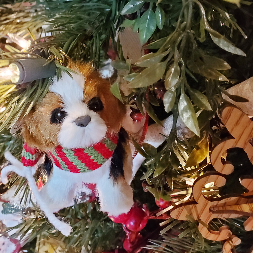Cute Dog Ornament