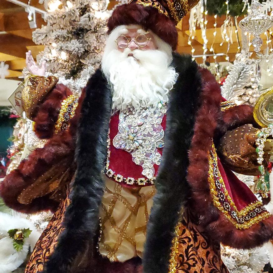 Fantastic Santa Claus Figurine