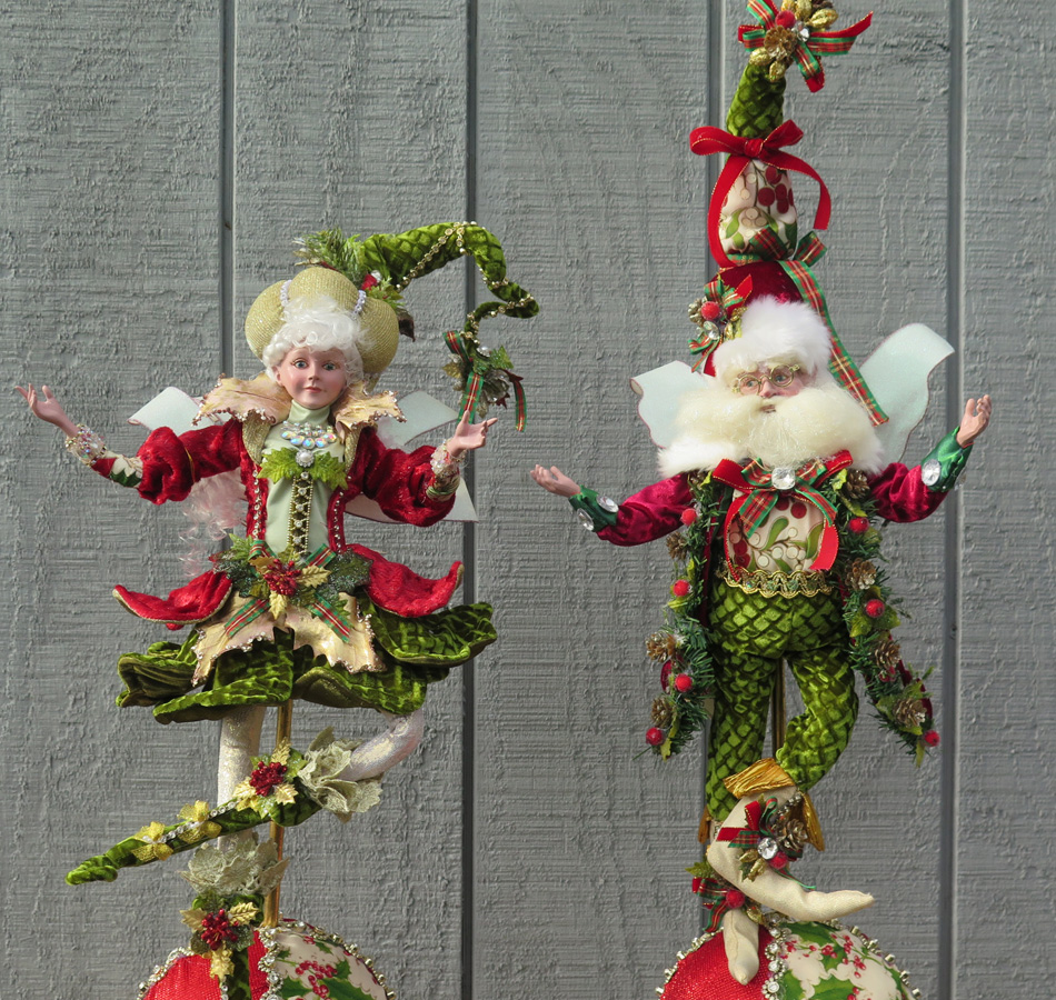 Santa and Mrs. Claus Figurines