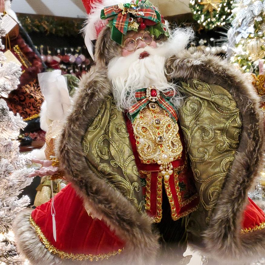 Fabulous Santa Figurine