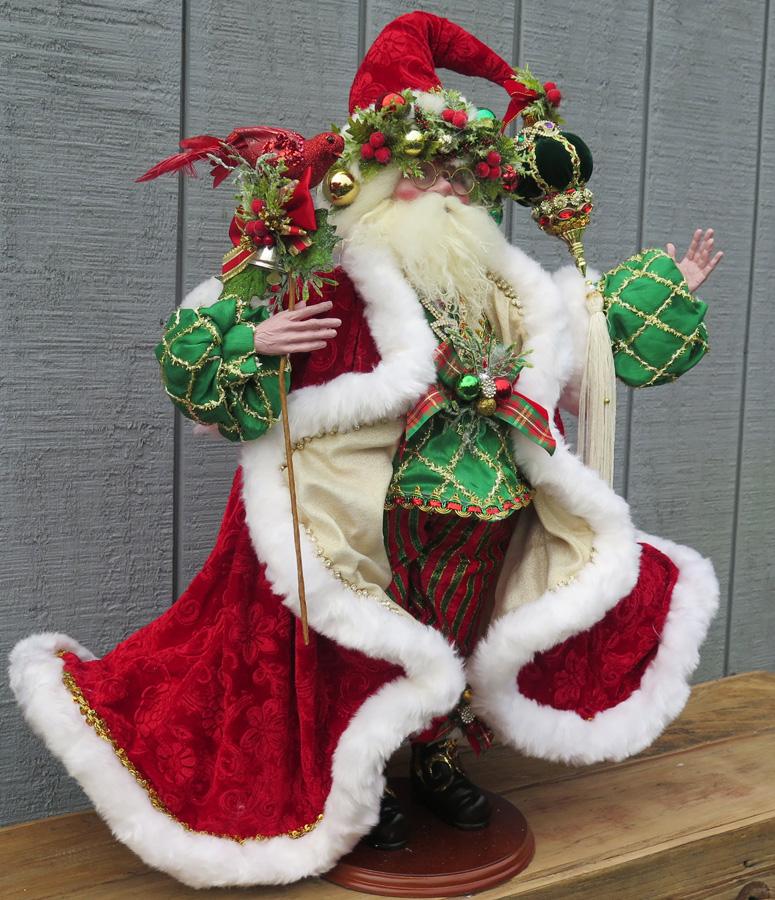 Decorative Santa Figurine