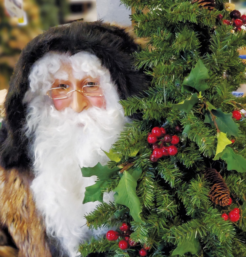Santa Comes for a Visit!