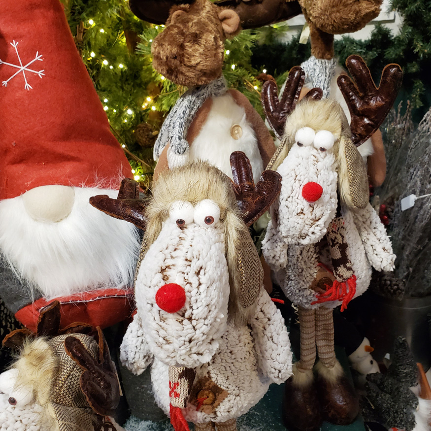 Plush Christmas Ornaments