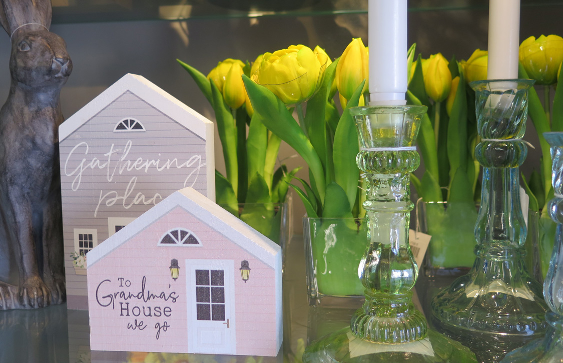 Easter Flowers, Decor, and Candlesticks