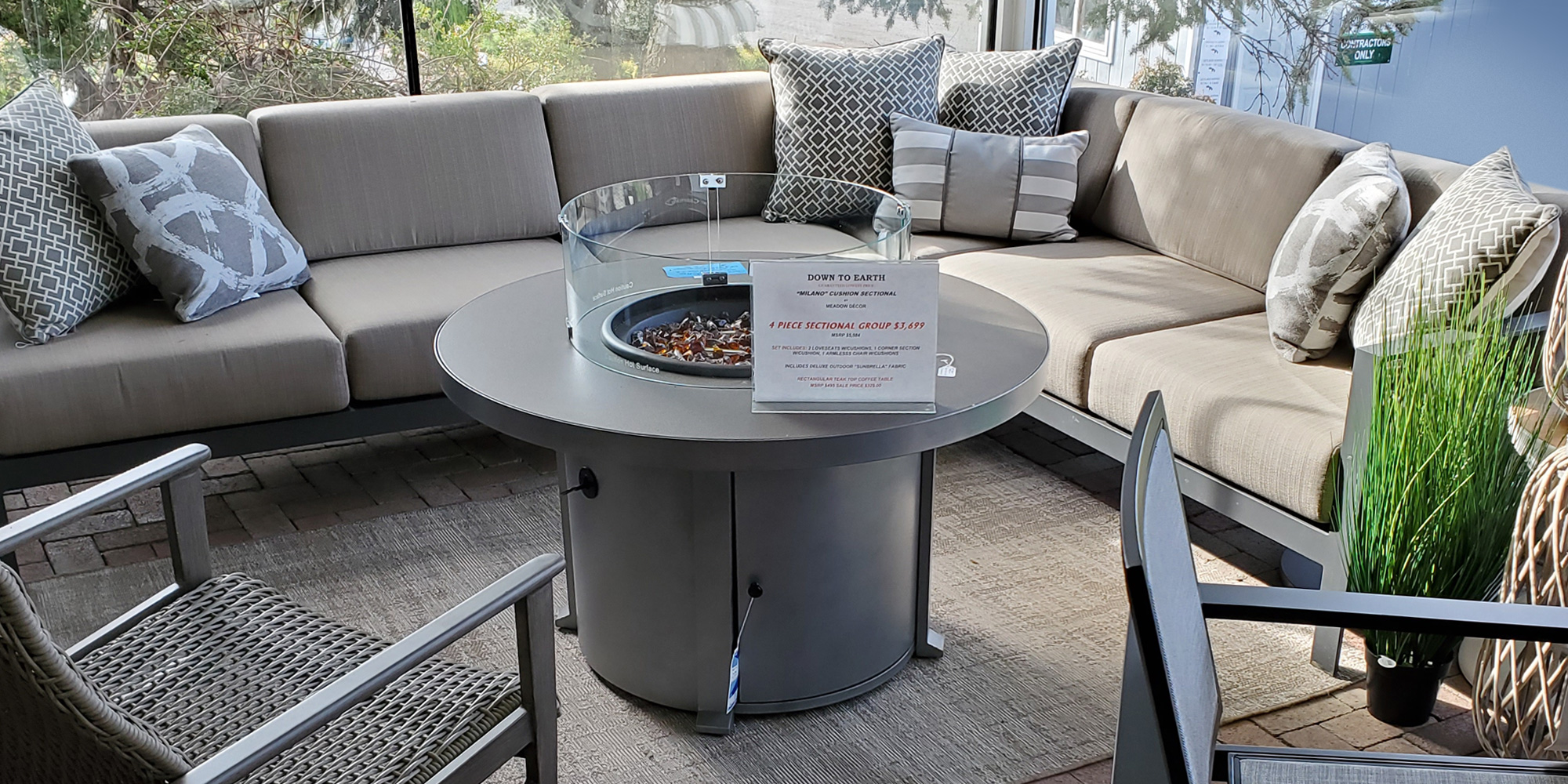 Image of: Outdoor And Patio Furniture Down To Earth Living