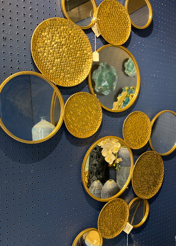 Gold Mirror Wall Decor