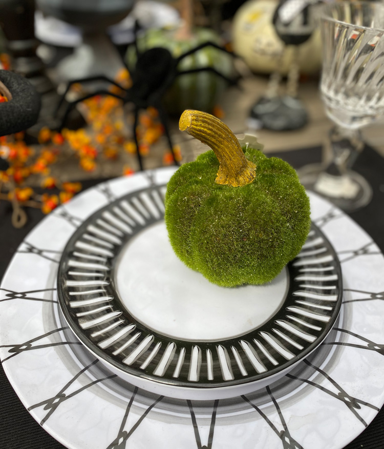 Halloween-themed Table Settings