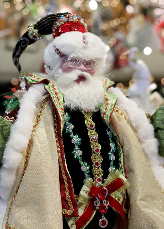 Santa Figurine by Seasons Design