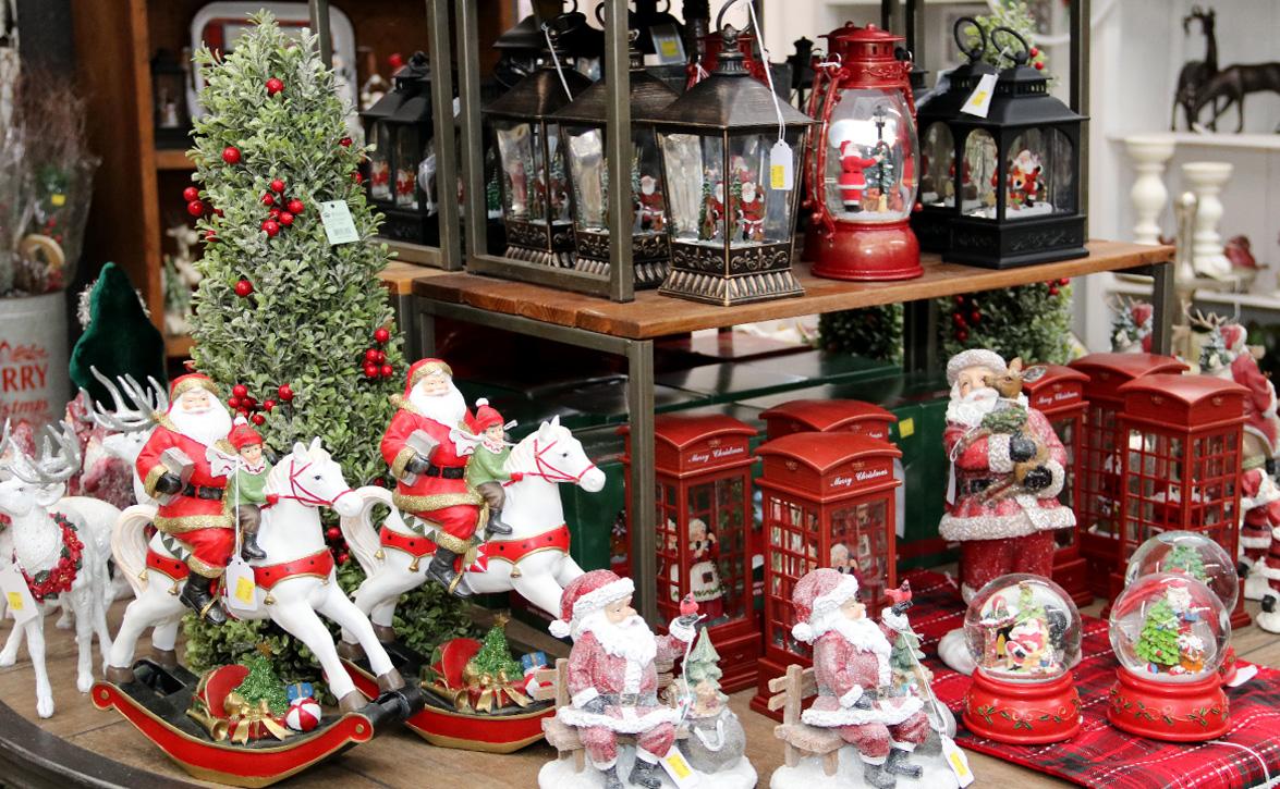 An amazing selection of Christmas Decor