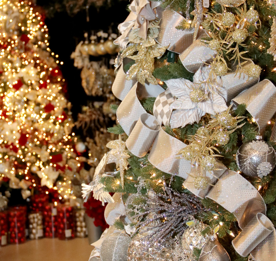 Come see all of our fully-decorated trees!
