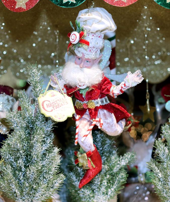Whimsical Santa Figurine
