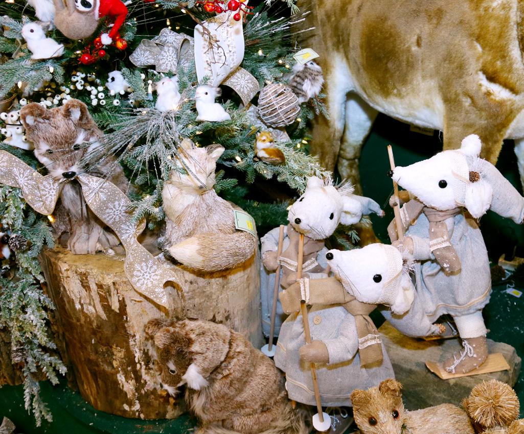 Plush Animal Figurines