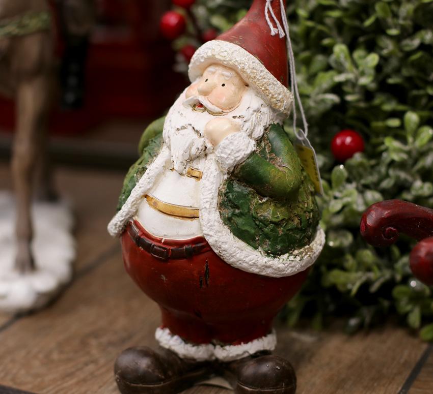 Jolly Santa Figurine