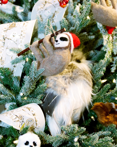 Hang in there little sloth, Christmas will be here soon!