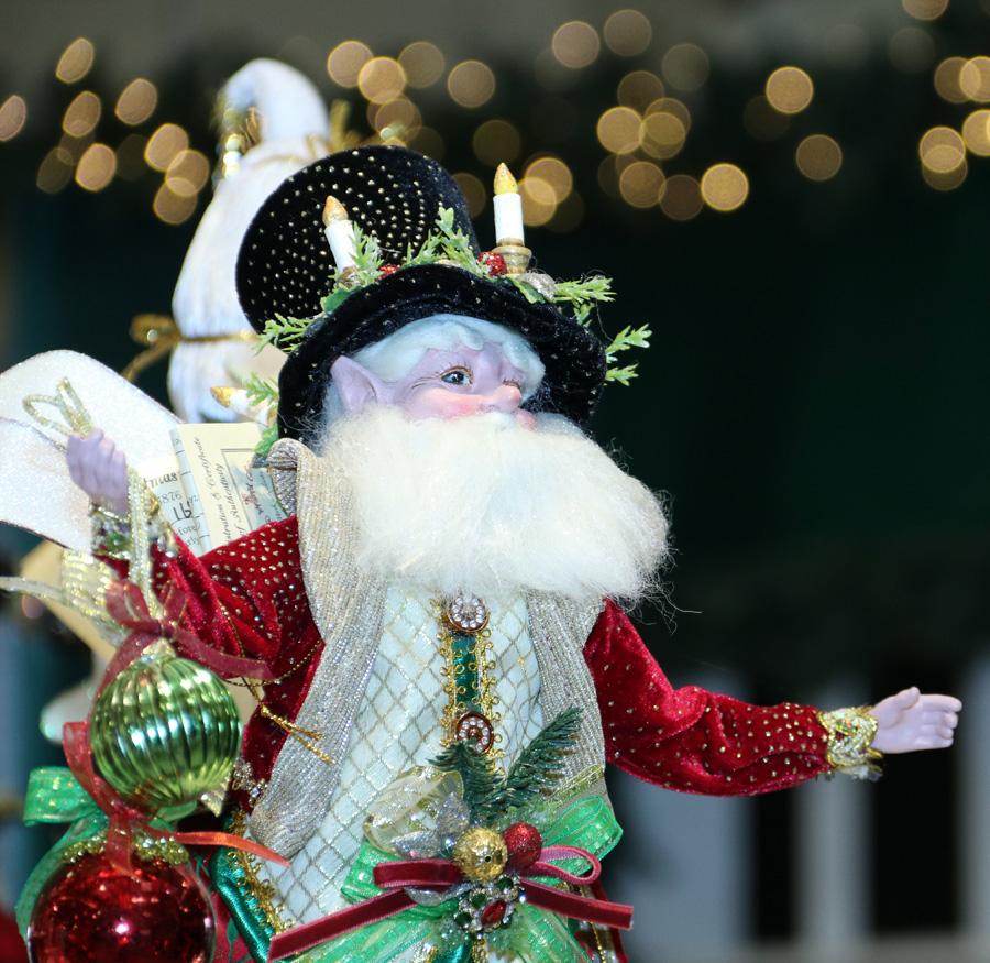 Festive Santa Figurine