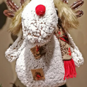 Christmas Moose Standing Plush from Fantastic Crafts