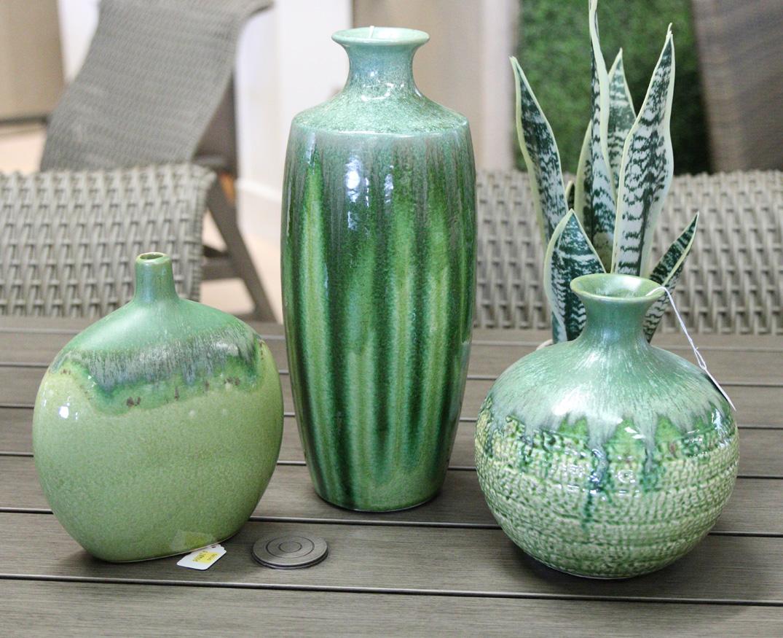 Gorgeous green ceramics