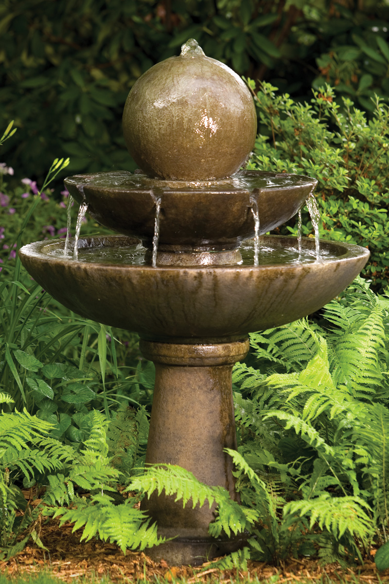 """46"""" Tranquility Sphere Spill Fountain"""