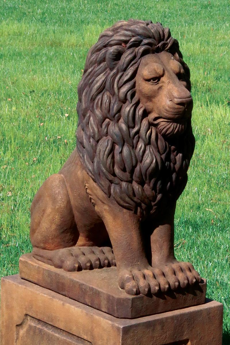 "30"" Grandessa Sitting Lion"
