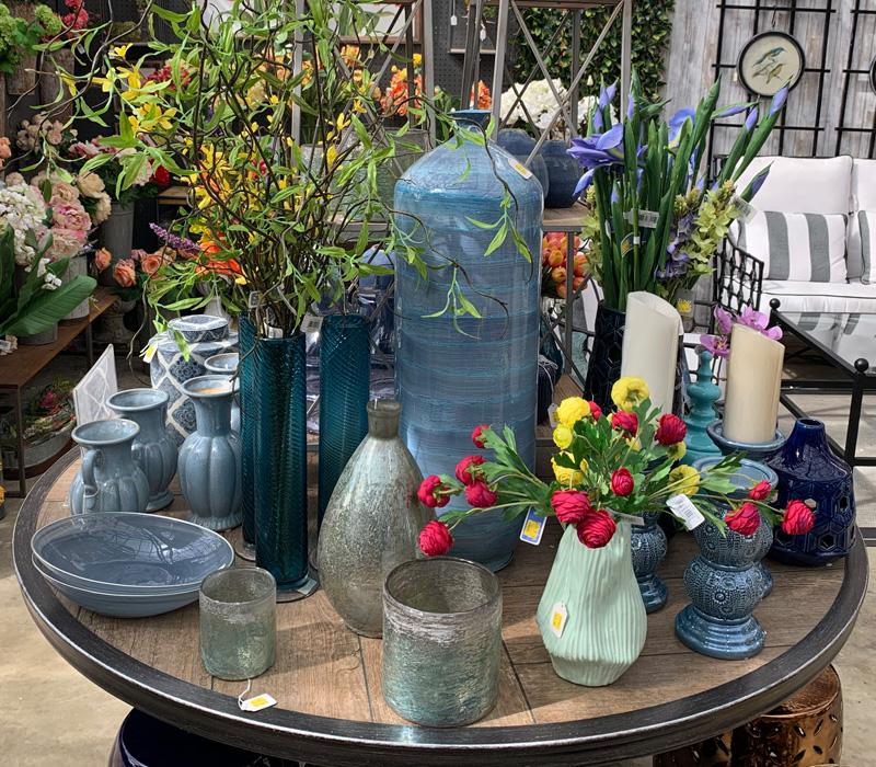 Decorative Ceramics and Florals