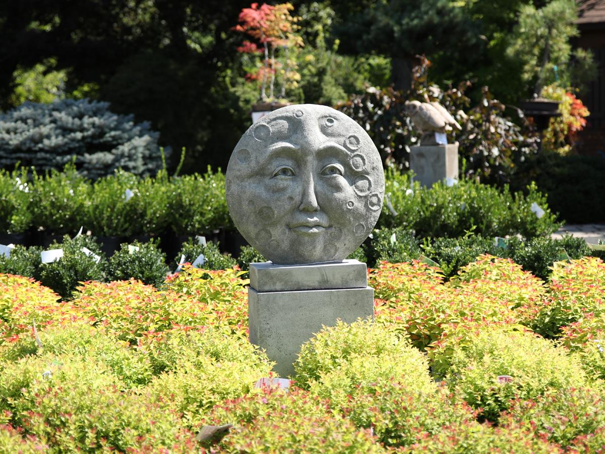 Smiling Moon Statuary
